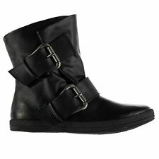 Blowfish Womens Coldem Boots Rounded Toe Buckle and Strap Detail Shoes