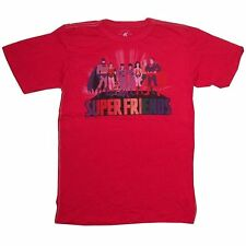 DC Comics Trunk LTD Superfriends Super Heroes Red Kids Youth Shirt NEW