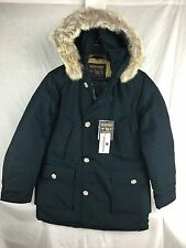 NEW WOOLRICH JOHN RICH & BROS ARCTIC PARKA DF DARK NAVY DOWN JACKET MEN WARM