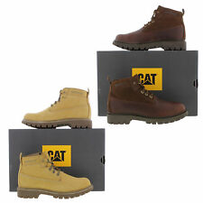 Caterpillar Melody Womens Brown Wheat Leather Suede Ankle Boots Size UK 5-8