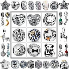 New Luxury Fashion Charms European Bead For 925 Sterling Silver Bracelet Bangle