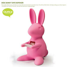 QUALY Living Styles Home Design Houseware Office Desk Bunny Tape Dispenser Pink