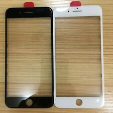 Front Outer Screen Glass Lens With Frame Bezel + OCA Film For iPhone 7/7 Plus