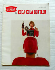 """1964 OCTOBER """"THE COCA COLA BOTTLER"""" MAGAZINE WITH GREAT ADS FROM SUPPLIERS"""