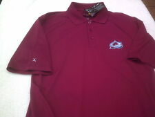NWT Antigua polo, men's  M, Colorado Avalanche, maroon, polyester