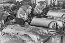 Porsche 550 Spyder production at Racing Department of Porsche factory Germany -