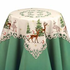 Embroidered Northwoods Table Linens, by Collections Etc