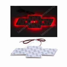 Red 12V Chevy Bowtie Emblem Badge Decal symbol Light Lamp for Chevrolet Cruze