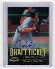 2011 Playoff Contenders Draft Ticket Aaron Westlake Auto