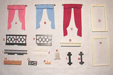 Playmobil  * Pick & Choose * 5300 VICTORIAN MANSION TRIM PARTS 1.79-3.99 w/ Comb