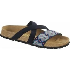 Papillio By Birkenstock COSMA Ladies Womens Stretch Flat Sandals Aztec Blue