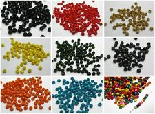 1000 pcs Round Wood Seed Beads 4mm Wooden Beads Pick Your Colour