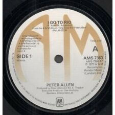 "PETER ALLEN I Go To Rio 7"" B/w Audience (ams7363) UK A&m 1977"