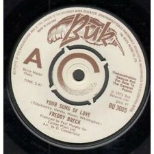 "FREDDY BRECK Your Song Of Love 7"" Demo B/w Always (bu3005) UK Buk 1975"