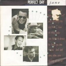 """PERFECT DAY Jane 7"""" B/w Preying On My Mind (lon188) Pic Sleeve UK London 1988"""