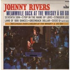 JOHNNY RIVERS Meanwhile Back At The Whisky A Go Go LP 12 Track Mono Pressing Bla