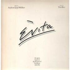 EVITA Soundtrack DOUBLE LP 23 Track Double Gatefold With Booklet In Gatefold Sle