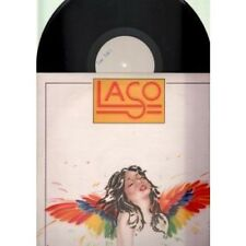 LASO S/t LP 7 Track Test Pressing With Uncut Proof Sleeve (mcf2804) UK Mca 1977