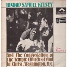 BISHOP SAMUEL KELSEY And The Congregation Of The Temple Church... LP 8 Track (62