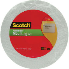 Scotch Double-Sided Foam Tape-.5 Inch X 36yd 021200403460