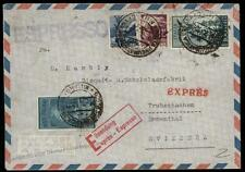 Italy 1950 Switzerland Express Rohrpost Pneumatic Mail Posta Pneumatica Co 66598