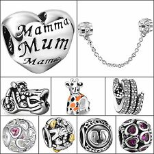 Hot Brand Jewelry Fashion 925 Sterling Silver Charms Bead Diy Fit 3mm Bracelets