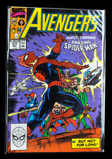 MARVEL COMIC, 1990, AVENGERS 317 GUEST STARRING the AMAZING SPIDER-MAN! NrMt!