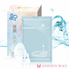 [ANNIE'S WAY] Hyaluronic Acid Hydrating Facial Sheet Mask 1PC or 10PCS/BOX NEW