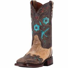 Dan Post Western Boot Womens CC Bluebird Orthotic BST Beige DP3948