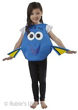 Childs Dory Tabard Finding Dory Fancy Dress Costume Outfit Age 2 - 6 Years