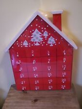 GISELA GRAHAM WOODEN ADVENT TREE NEW AND BOXED