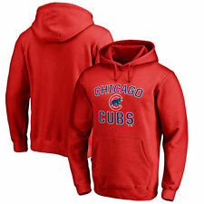 Chicago Cubs Victory Arch Pullover Hoodie - Red - MLB