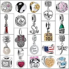 Genuine Hot Luxury 925 Silver Charms Diy For Brand European Bead Bracelets Chain