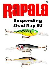 Rapala SRRS07/05  FT/S/SD Suspending Shad Rap RS - Bass Pike MuskyTrout Lures