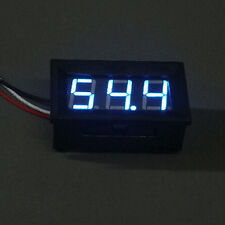 Mini LED 0-100V Voltmeter Voltage Volt 3-Digital Display Panel Meter /3 Wires JG