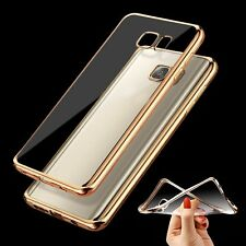 Ultra Thin Metallic Silicone Rubber Case Cover for Samsung GalaxyS7 S6 Edge/Plus