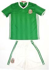 Mexico National Green Home Soccer Jersey & Shorts Uniform Men's Adult