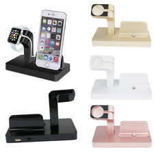 Charging Charger Dock Stand Bracket iPhone Holder For Apple Watch iWatch iPhone7