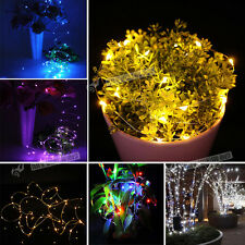 100 LED 10M String Fairy Lights Christmas Wedding Outdoor Party Xmas Multi Color