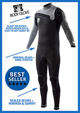 NEW! Body Glove Prime Mens Surfing Wetsuit 3/2mm Surfing Diving - 16123-GRY