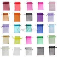"100 Strong Organza Pouch 5""x7"" Wedding Favor Christmas Gift Jewelry Candy Bag"