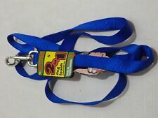 The Grrrip Tracking Leash Close Control 2 in 1 Dog Leash in Size 6FT Colors Blue