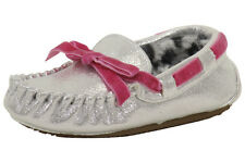 Stride Rite Toddler Girl's Gabby Fashion Gray Moccasin Slippers Shoes