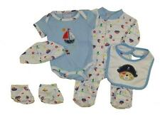 Take Me Home Newborn Boys Pirate 5pc Layette Set Size 3/6M 6/9M $22