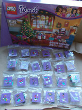 LEGO FRIENDS CHRISTMAS MUSIC FESTIVAL MINIFIGS HAMSTER POLARBEAR. PICK 1 U WANT
