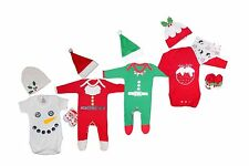 Newborn Infant Baby Boy Xmas Costume Outfits Set Girl First Christmas