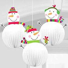 3D Hanging Decorations - 20cm Christmas Decorations - Christmas Decorations