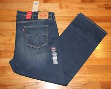 NEW Mens Levi's 559 Relaxed Straight Fit Denim Jeans Whiskered Distressed *E3