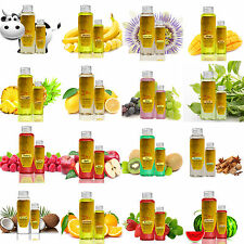 110+ Flavored Essential Warming Massage Oil Smells Delicious Lotion Sexy Lube Q