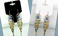 100 Piece Lots BLACK or WHITE Jewelry Display Hang Tags Necklace & Earring Combo